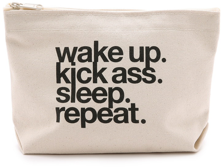 Motivational Makeup Bag