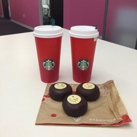 Starbucks Gingerbread Tea Latte