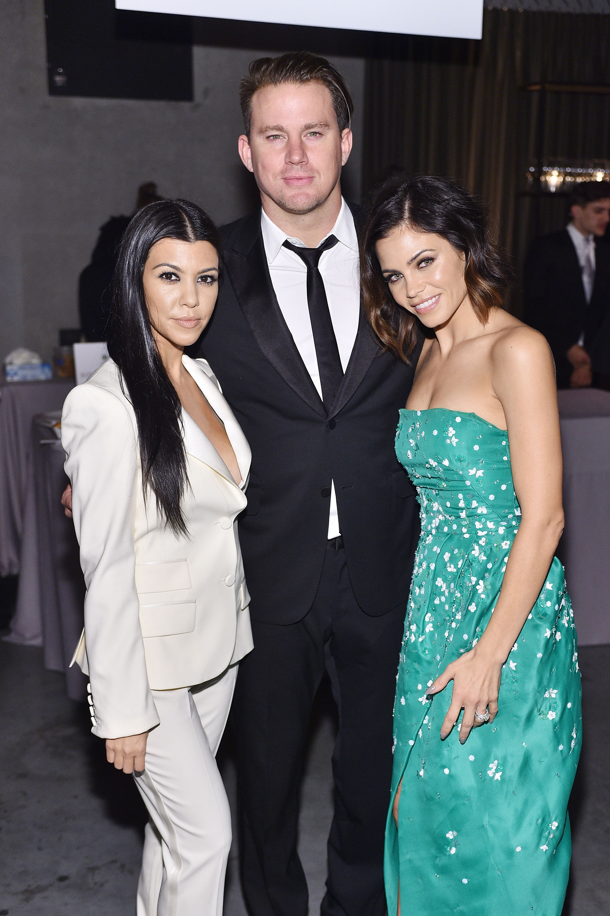 Pictured: Channing Tatum, Kourtney Kardashian, and Jenna ...
