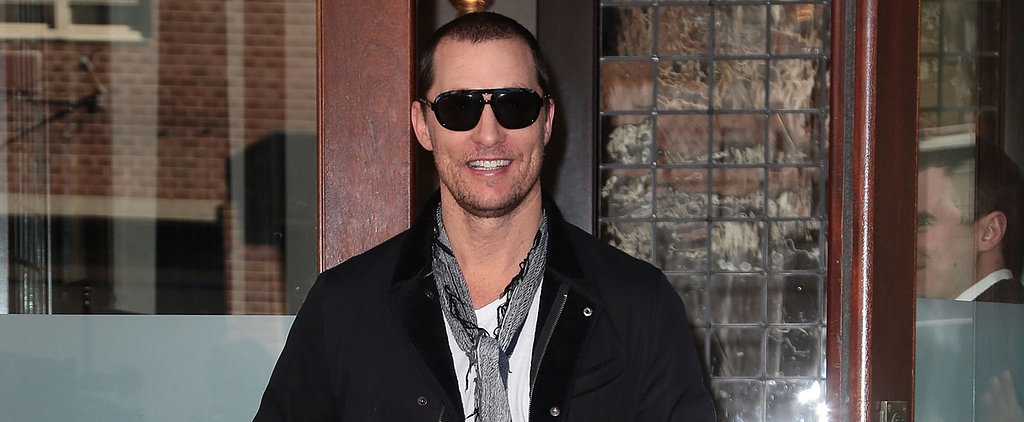 Matthew McConaughey and Camila Alves Look So Happy During Their NYC Stroll