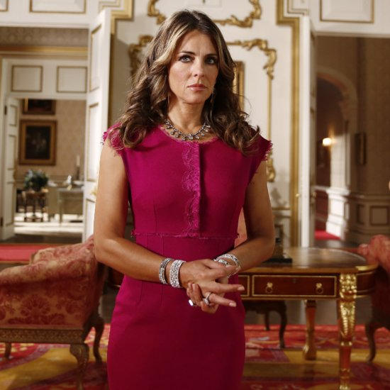 Elizabeth Hurley's Onscreen Character Has Some Royally Good Bling