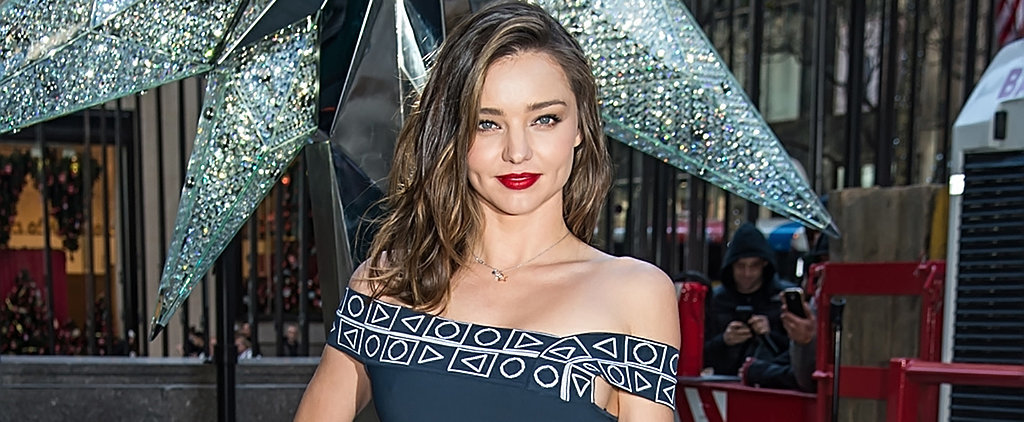 Miranda Kerr Kicks Off Christmas in Her Chicest Outfit Yet