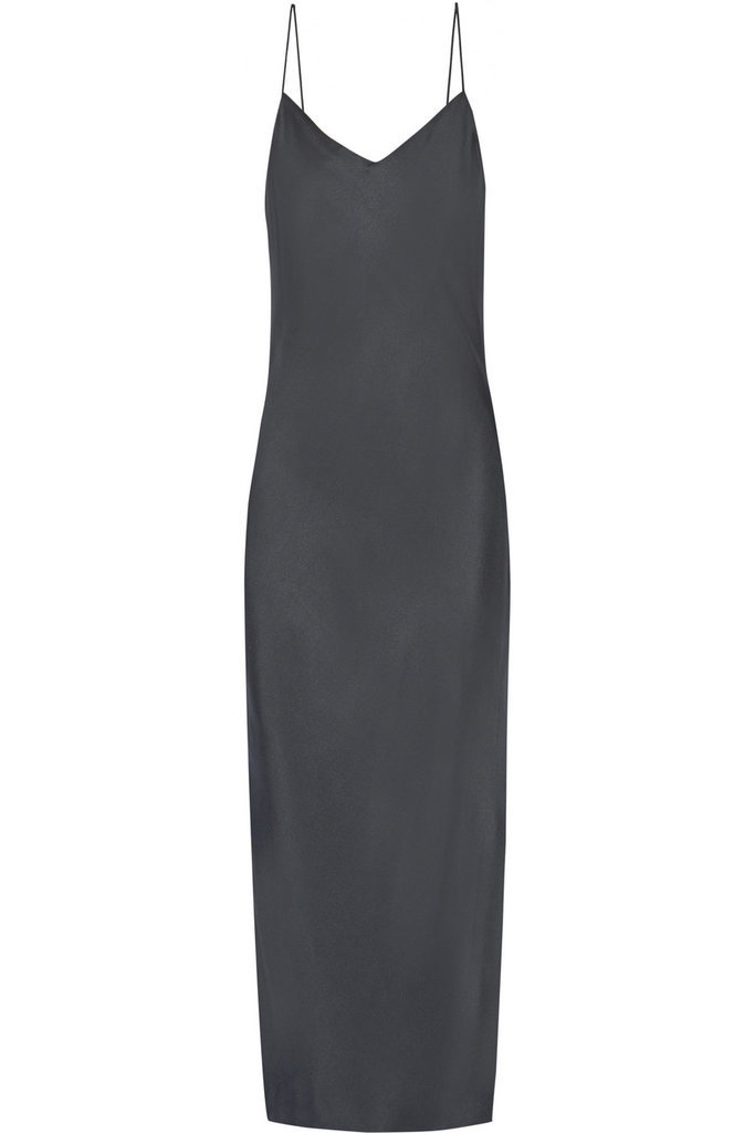 Rag & Bone Cove silk-twill maxi dress ($595)