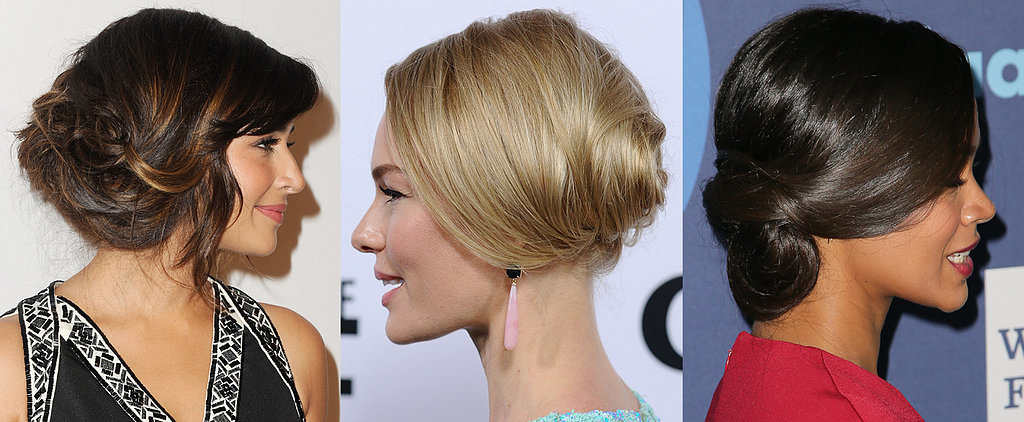 This Festive Season Your Party Updo Is Worn Down Low