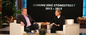 Ellen DeGeneres Makes a Hilarious Video Montage of All of Eric Stonestreet's Scares
