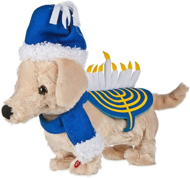 Dancing Hanukkah Puppy