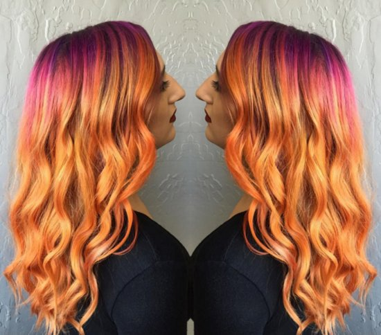 Sunset Hair Color Trend
