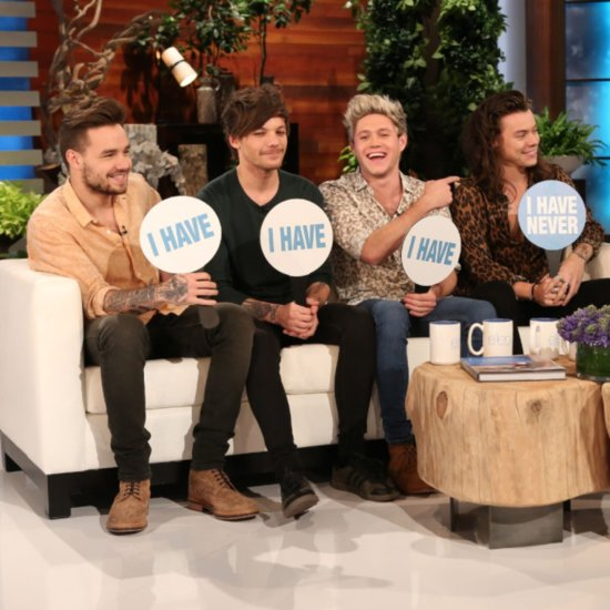 One Direction Plays Never Have I Ever on Ellen November 2015