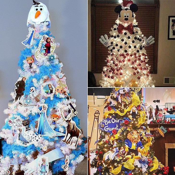 Christmas Tree Ideas For Frozen : Disney christmas tree ideas popsugar moms