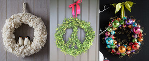 39 Strikingly Unique Holiday Wreaths