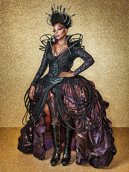 The Wiz Live!: See the First Photos of Mary J. Blige as the Wicked Witch of the West