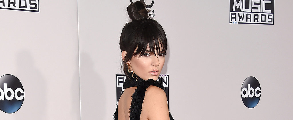 Kendall Jenner Got Brand-New Bangs For the AMAs