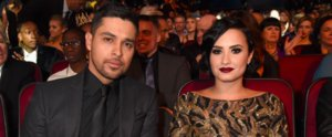 Demi Lovato and Wilmer Valderrama Look Straight Out of a Gangster Movie at the AMAs