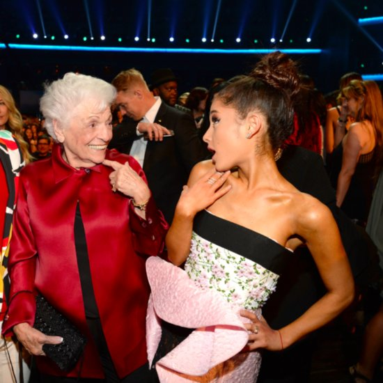 Ariana Grande's Grandmother at American Music Awards 2015