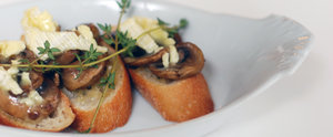 Killer App: Mushroom and Brie Bruschetta