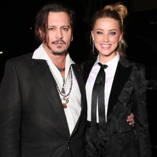 Johnny Depp and Amber Heard at The Danish Girl LA Premiere
