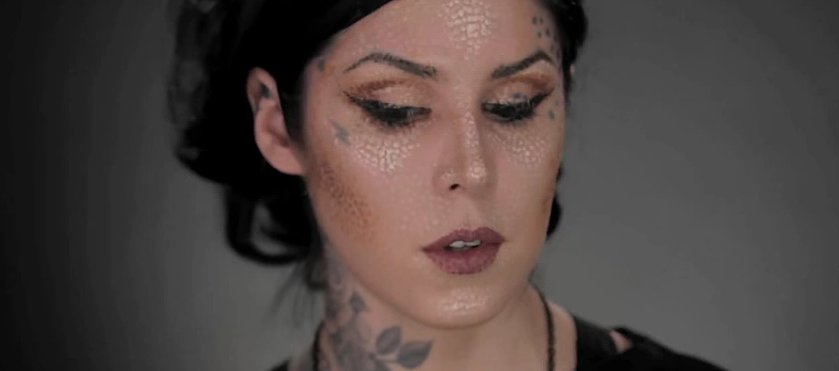 Kat Von D Will Blow Your Mind With This Intricate Beauty DIY