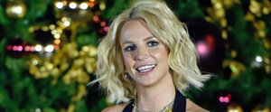 Britney Spears Is Adorably Goofy During a Las Vegas Christmas-Tree-Lighting Ceremony