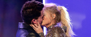 """Charlie Puth Reveals His AMAs Makeout With """"Best Friend"""" Meghan Trainor Was Her Idea"""