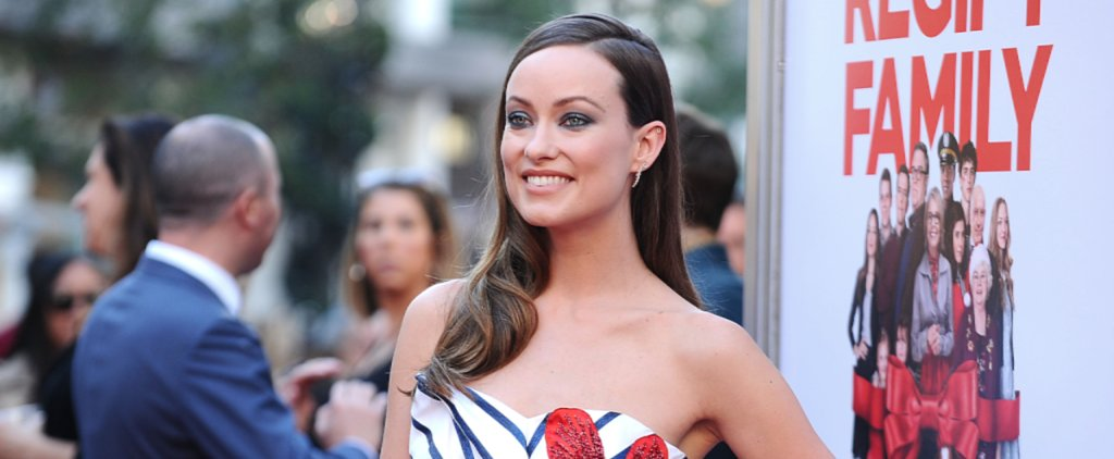 Olivia Wilde's Healthy Hair Secret Is Perfect For Busy Moms