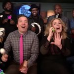 """Adele and Jimmy Fallon Sing """"Hello"""" on The Tonight Show 2015"""
