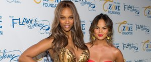 Chrissy Teigen Clears Up Rumors of a Feud With Tyra Banks