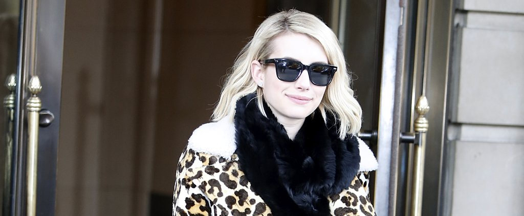 Emma Roberts Can't Stop Wearing This 1 Coat — and It's Easy to See Why
