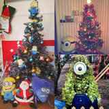 Get Ready to Go Bananas For These Minions Christmas Trees