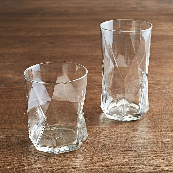 west elm bormioli rocco cassiopeia glassware set of 6 the best home gifts for every budget. Black Bedroom Furniture Sets. Home Design Ideas