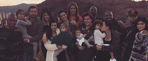 The Kardashian-Jenner Crew Celebrates Thanksgiving as a Big, Happy, Blended Family