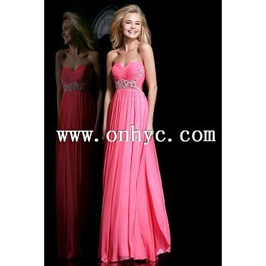 Dramatic Empire Sweetheart Empire Floor Length Chiffon Red Sleeveless Zipper Evening Dress with Sashes and Draped