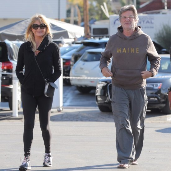 Goldie Hawn and Kurt Russell Out in LA November 2015