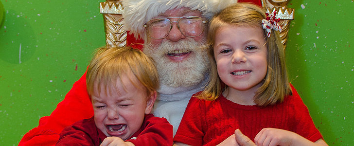 The 18 Soul-Crushing Stages of Taking Your Kids to Visit the Mall Santa