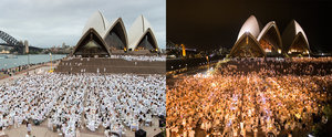 These Pics of Sydney's Diner en Blanc Will Have You Hustling For Next Year's Tickets