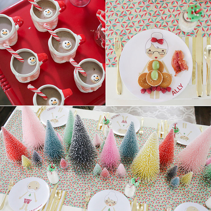 File Decoration Designs: Kids' Gingerbread House Decorating Holiday Party Ideas