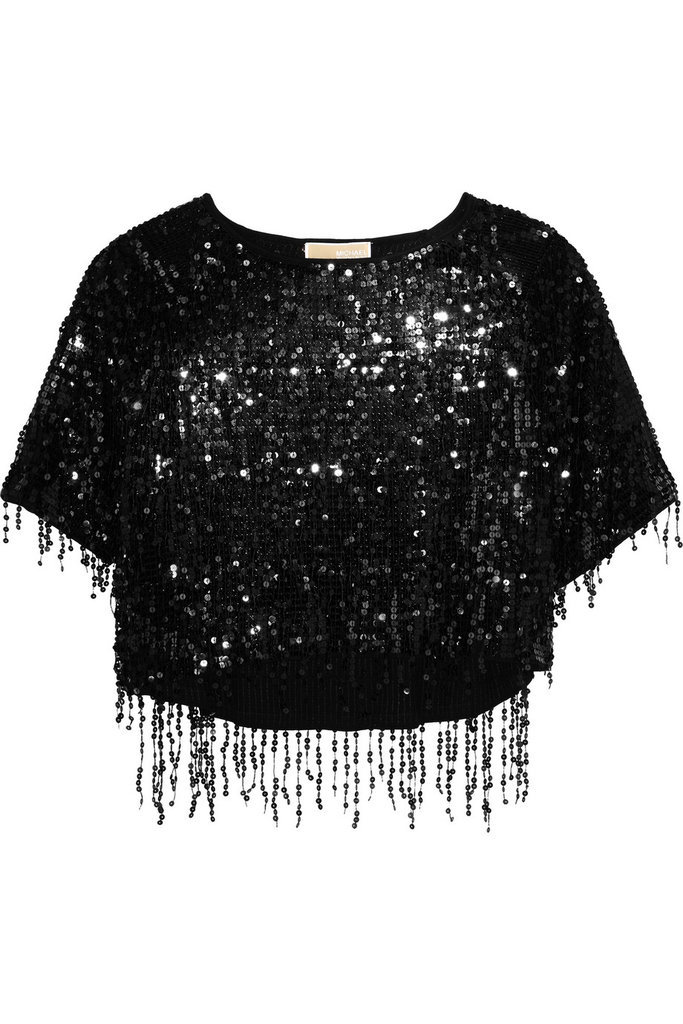 Michael Michael Kors Sequined Top ($250)