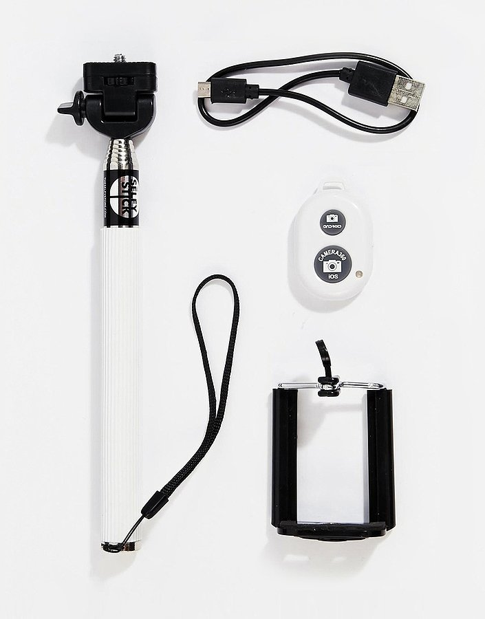 selfie stick with remote 36 50 affordable gifts tailored for teens pop. Black Bedroom Furniture Sets. Home Design Ideas