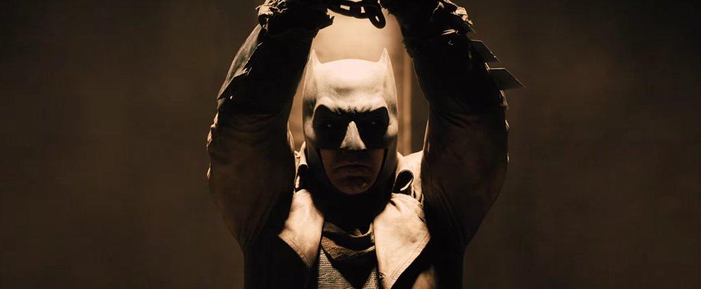 Ben Affleck Is Unmasked in the New Batman v Superman Teaser