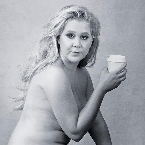 Naked Amy Schumer in Pirelli Calendar