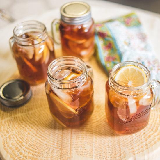Kicked-Up Lemon-Ginger Iced Tea