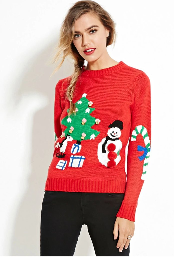 Forever 21 Holiday Graphic Sweater ($25)