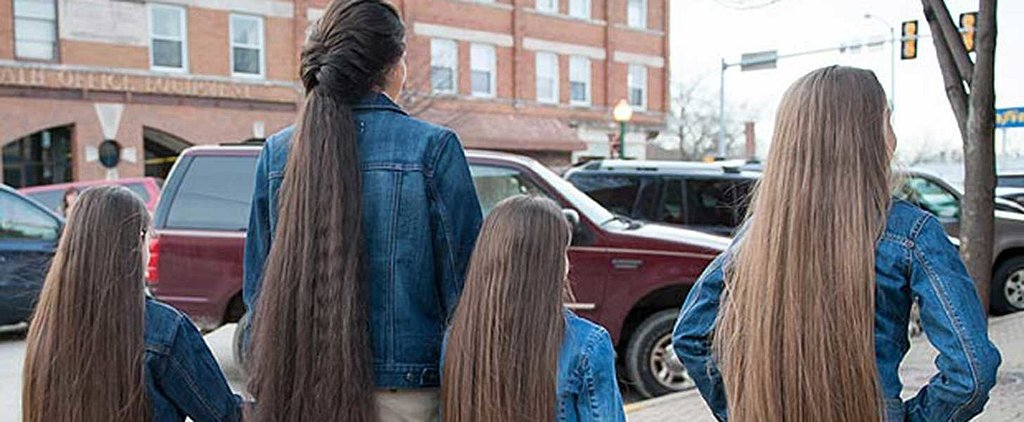 This Family Gives #LongHairDontCare a Whole New Meaning