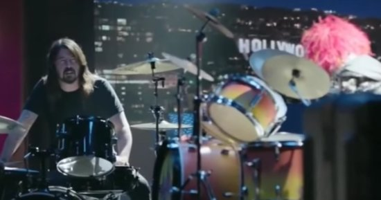 Everyone Wins In Dave Grohl's Ultimate Drum-Off Against Animal From 'The Muppets'