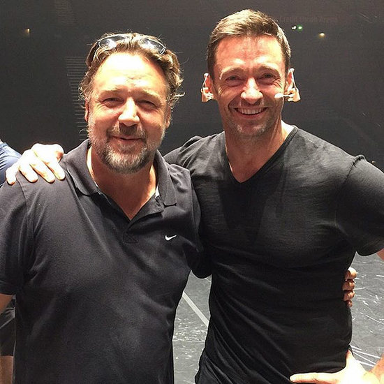 Aussie Love! Russell Crowe Reunites with Hugh Jackman Onstage for His One Man Show