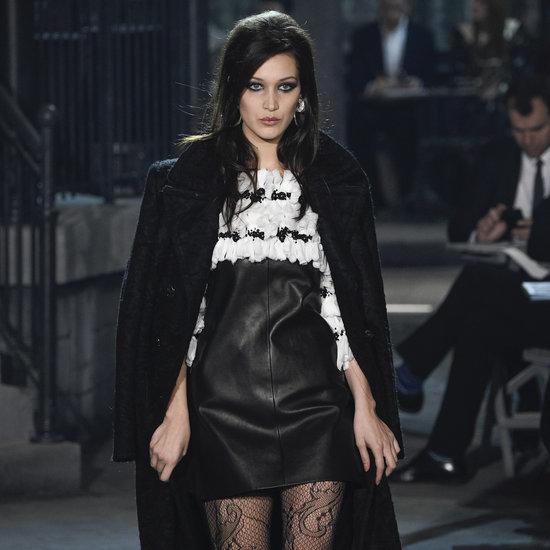 Bella Hadid Chanel Runway Debut