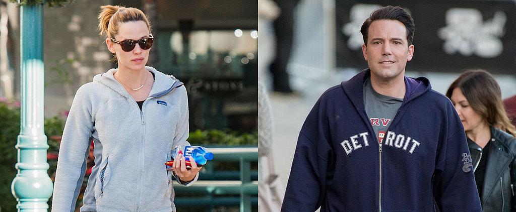 Jennifer Garner and Ben Affleck Step Out Separately in LA on the Same Day