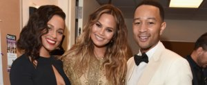 Chrissy Teigen Just Wore Her Sexiest Maternity Look Yet