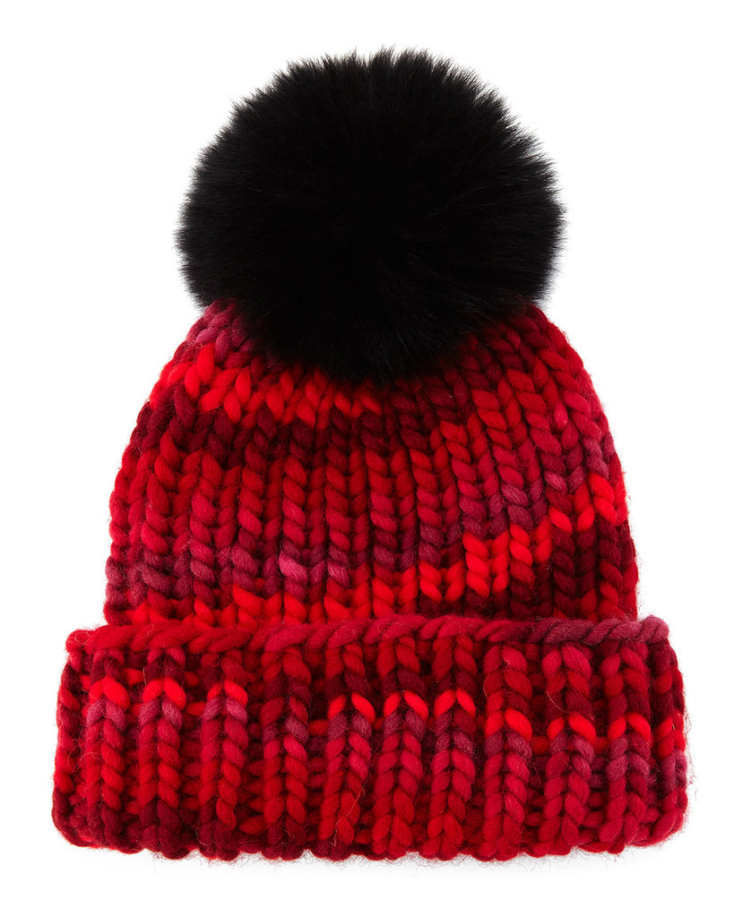 Cozy with a perfect dose of fun and whimsy, this Eugenia Kim  beanie ($250) was made to enjoy.