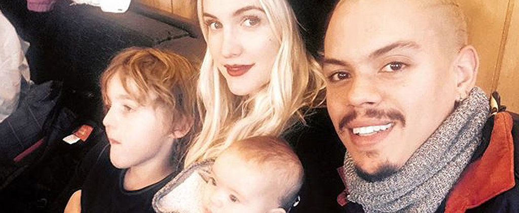 Ashlee Simpson and Evan Ross's Daughter Is as Cute as a Button in This New Family Photo