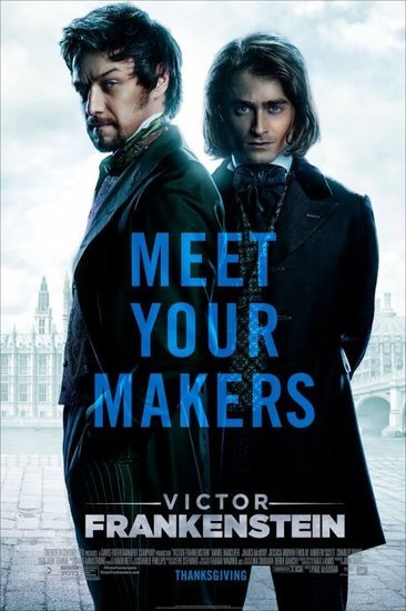 James McAvoy and Daniel Radcliffe in Victor Frankenstein movie review